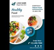 Healthy Food Restaurant Flyer