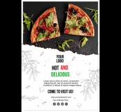 Italian Food Restaurant Flyer