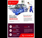 Car Washing Flyer