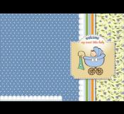 Dot Dot Baby Shower Card