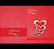 valentine Day Red card