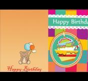 Happy Birthday Cute Card