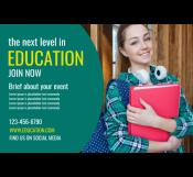 Education Fair Banner Template