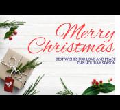 Christmas Festival Banner Template
