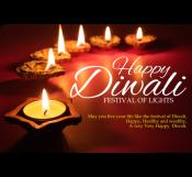 Diwali Festival Banner Template