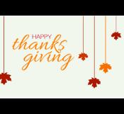 Thanksgiving Banner Template