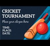 Cricket Banner Template