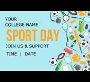College Sport Day Banner