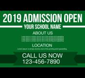 School Opening Banner Template