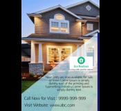 Elegant Real Estate Services Flyer