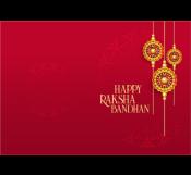 Elegant Raksha Bandhan Card