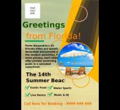 Travel Summer Camp Flyer