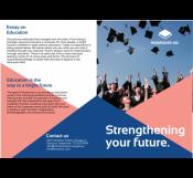 Institute Advertisement Brochure