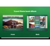 Green Travel Album Template