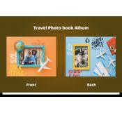 Travel Photo Album Template