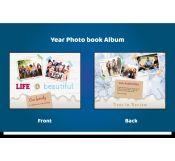 Beautiful Yearbook Album