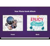Year Photo Album Template